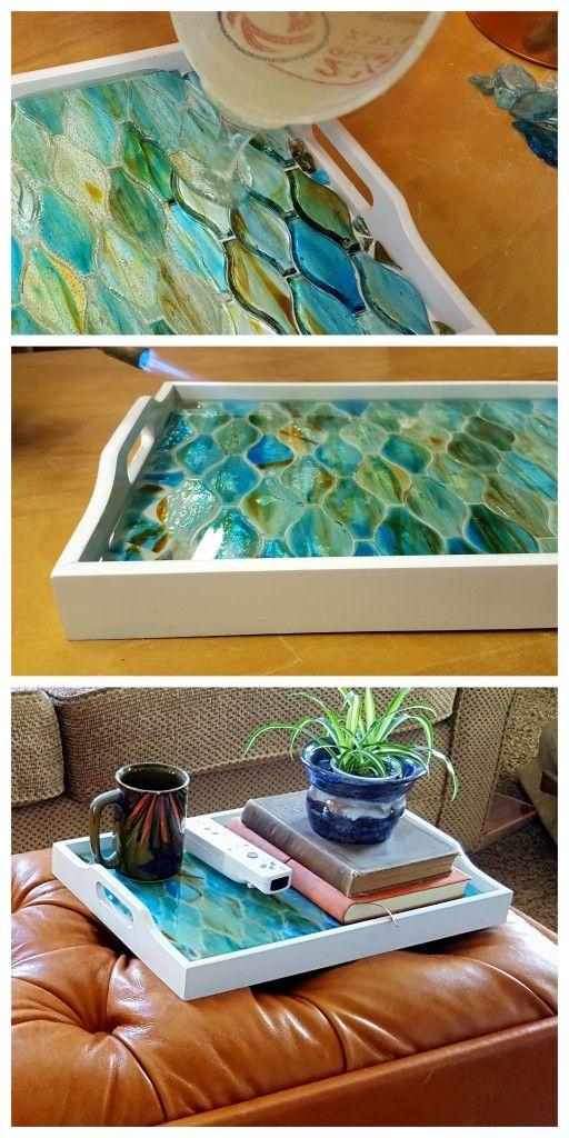 Decorative Mosaic Tray