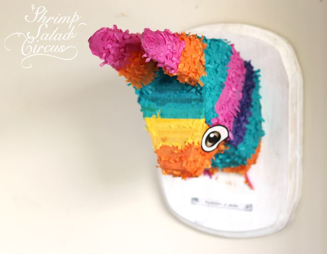 Piñata Taxidermy Wall Art – How To-sday