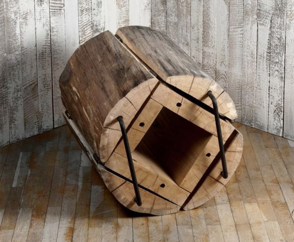 The 'Waste Less' chair by Architecture Uncomfortable Workshop.