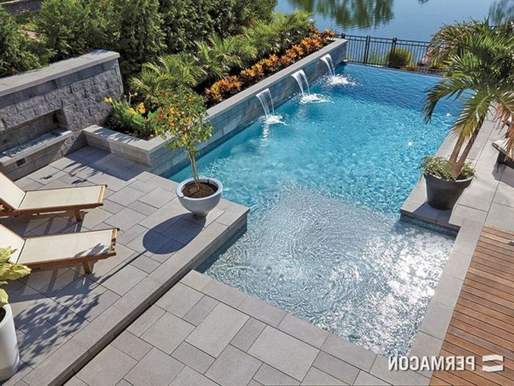35+ Stuning Backyard Pools Design Ideas You Will Totally Love - Page 5 of 39