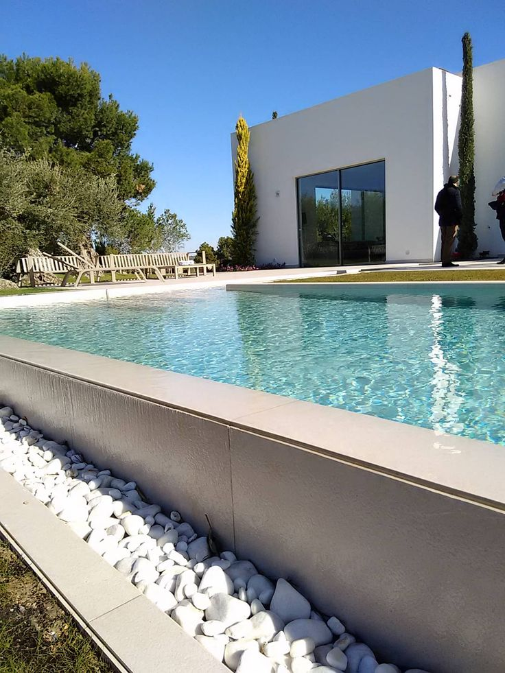 Lechuza. las colinas 2. marjal: piscinas de estilo de gestec. arquitectura & ingeniería, mediterráneo
