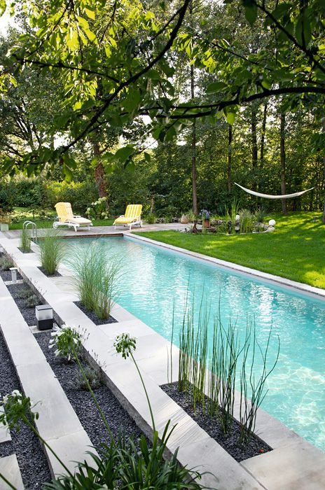 Natural/Living pool ideas ~ Biotop Schwimmteiche und Pools