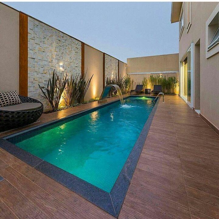Sonhando com essa piscina  por arqmbaptista Veja + no blog www.construindomi... ...