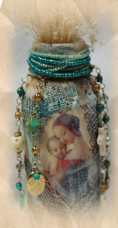 Decorative Bottles : ~~~At Altered Egos (facebook group) we host Altered Art swaps ~ Feel free to ch