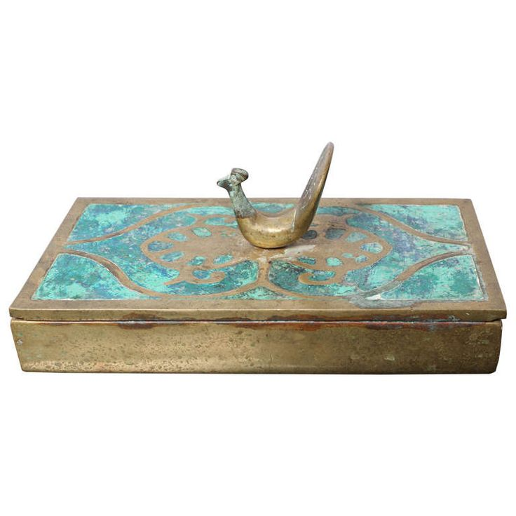 Brass Box by Pepe Mendoza | From a unique collection of antique and modern boxes...