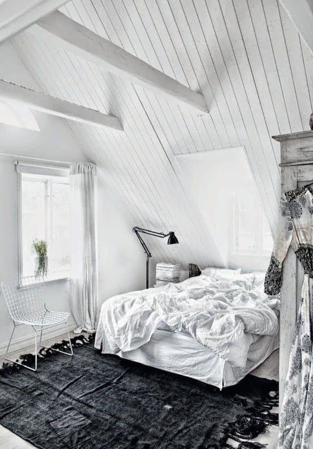 A truly inspiring Swedish home in monochrome