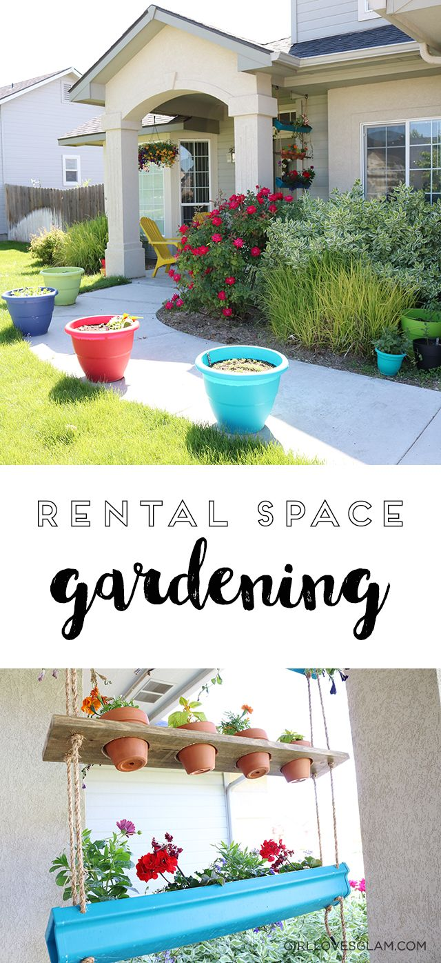 Rental Space Container Gardening