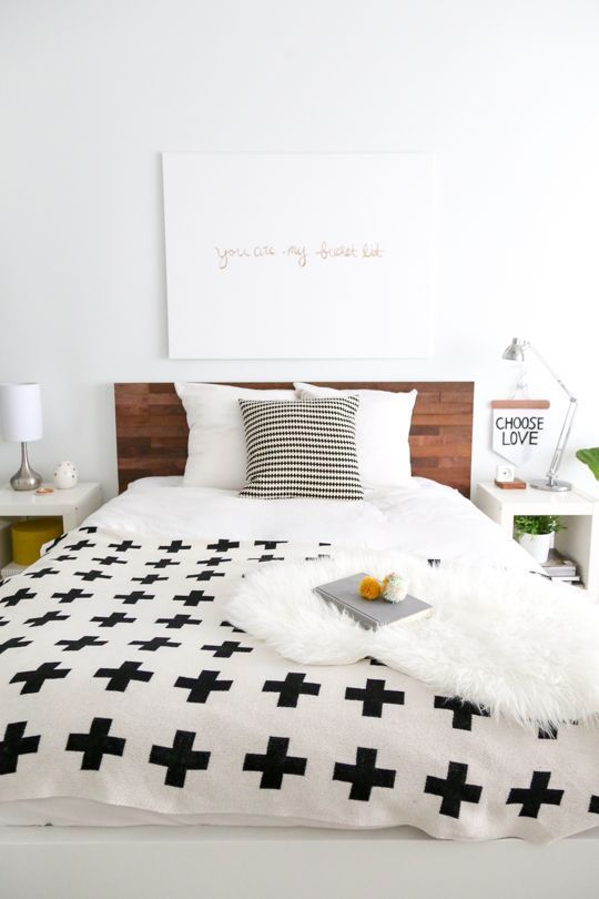 Ikea Bed Hack: DIY Wooden Headboard With Stikwood