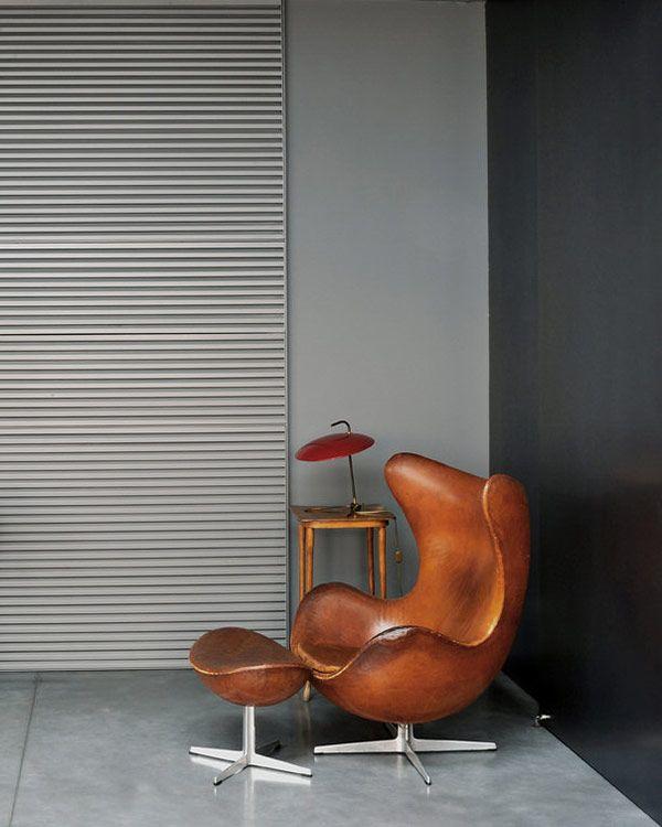 Dark modern interiors