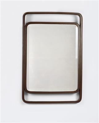 "A wall mirror (""Mirror Frame""), Model No. 40/8, designed by Gustav Siegel,"
