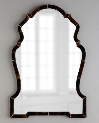 Horn Chippendale Mirror