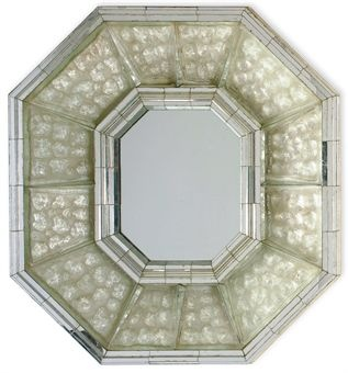 Max Ingrand (1908-1969) an etched glass mirror circa 1950 via Christies