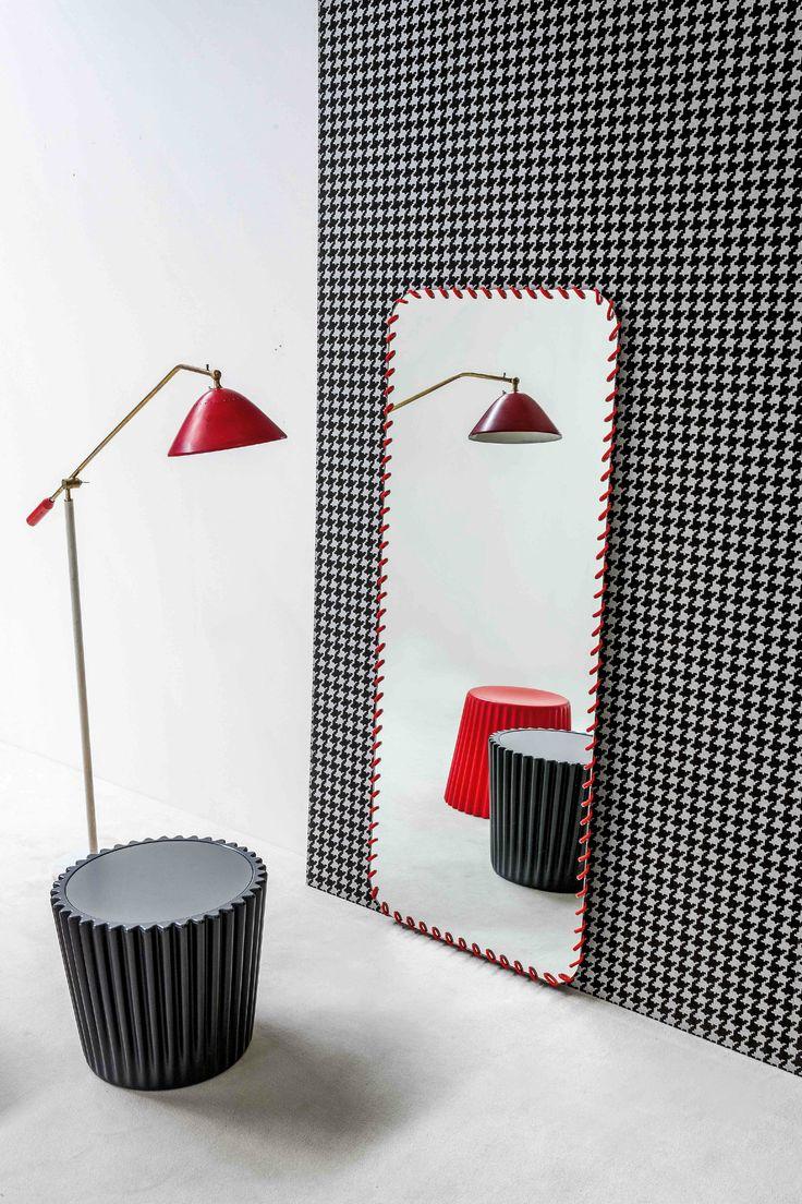Rectangular #mirror SPIRAL MIRROR ... design Ryosuke Fukusada