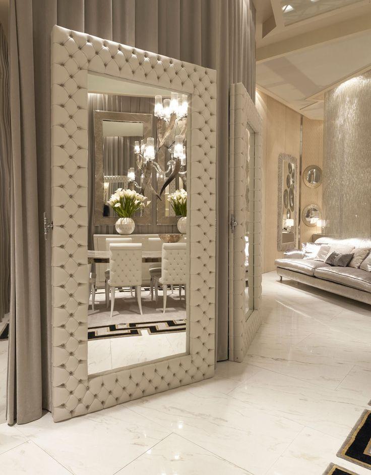 So Elegant #mirrordesign #wallmirror #Interior #Design #Home See morewww.covetlo...