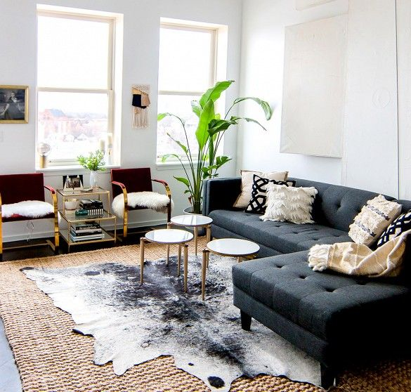 Small Space, Small Rug? Not Necessarily—Here's How to Get It Right