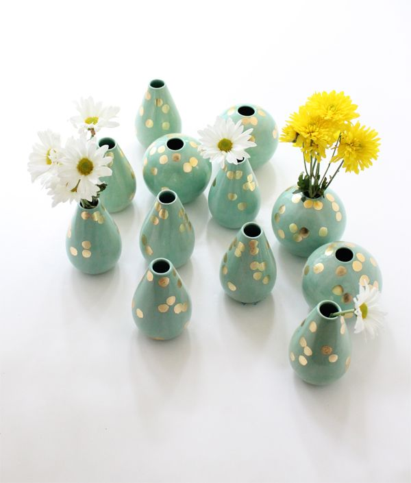 I just adore our mint vases by the object enthusiast, www.babasouk.ca