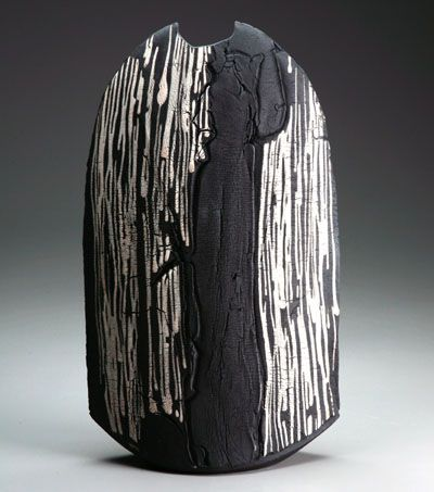 Matthew Allison - Stoneware black slip