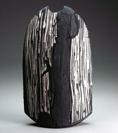Matthew Allison - Stoneware black slip
