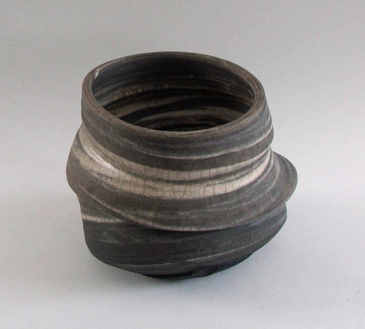 'Thrown Altered Bowl; Dan  Chapple