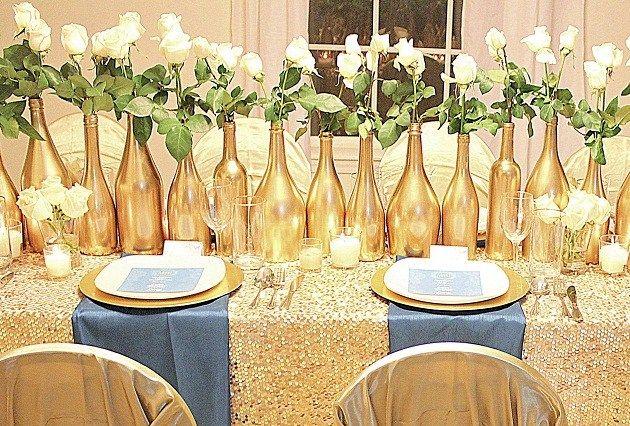 Golden Glam Celebration {Guest Feature}