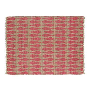 Check out this item at One Kings Lane! Adain Jute-Blend Rug, Pink
