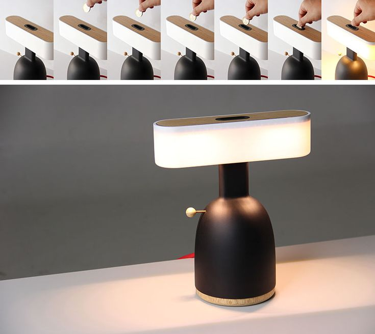 These Lamps Need Either Coins Or Wind To Operate