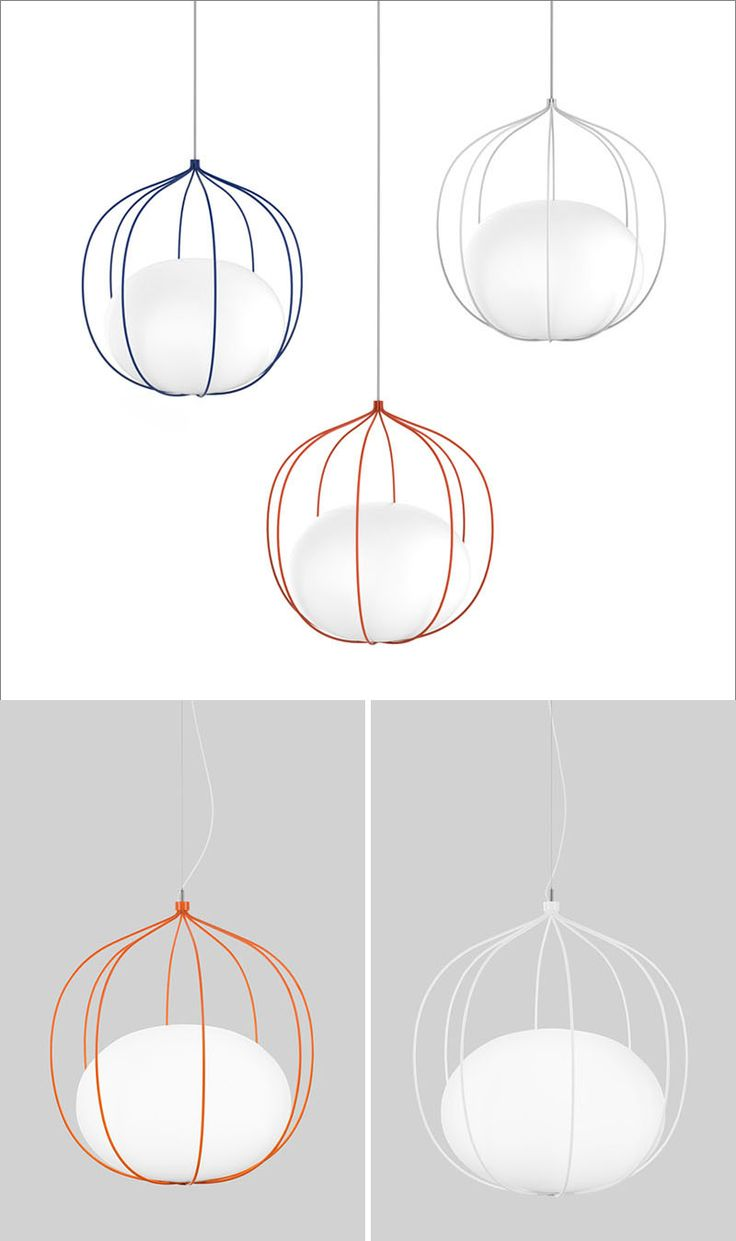 Front Design Have Created A New Pendant Light Called 'Hoop' For Swedish Lighting Manufacturer Zero