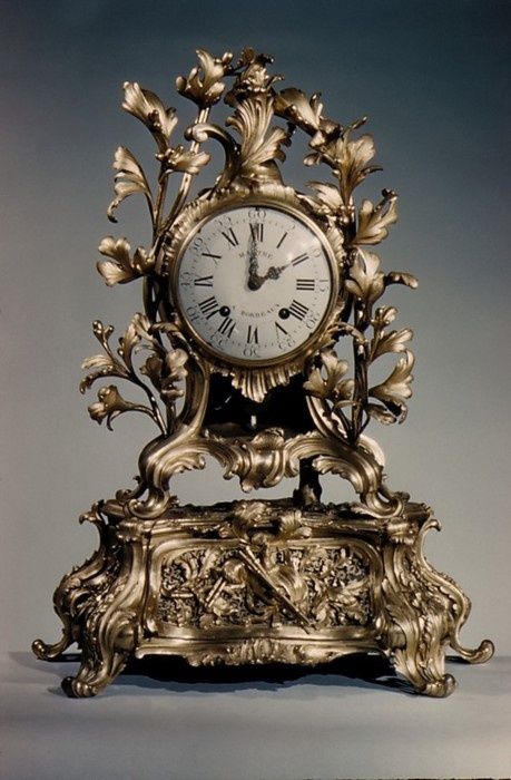 Musical Mantel Clock by Jean Baptiste Martre, France c. 1770