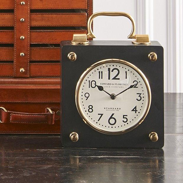 European Tabletop Clock