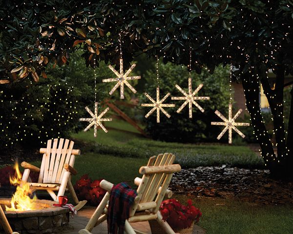 Christmas Craft Ideas: Lighted Snowflake