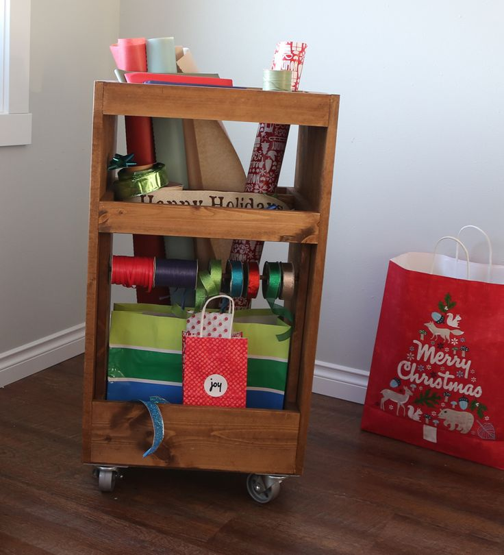 Gift Wrapping Cart - Plans with RyobiNation