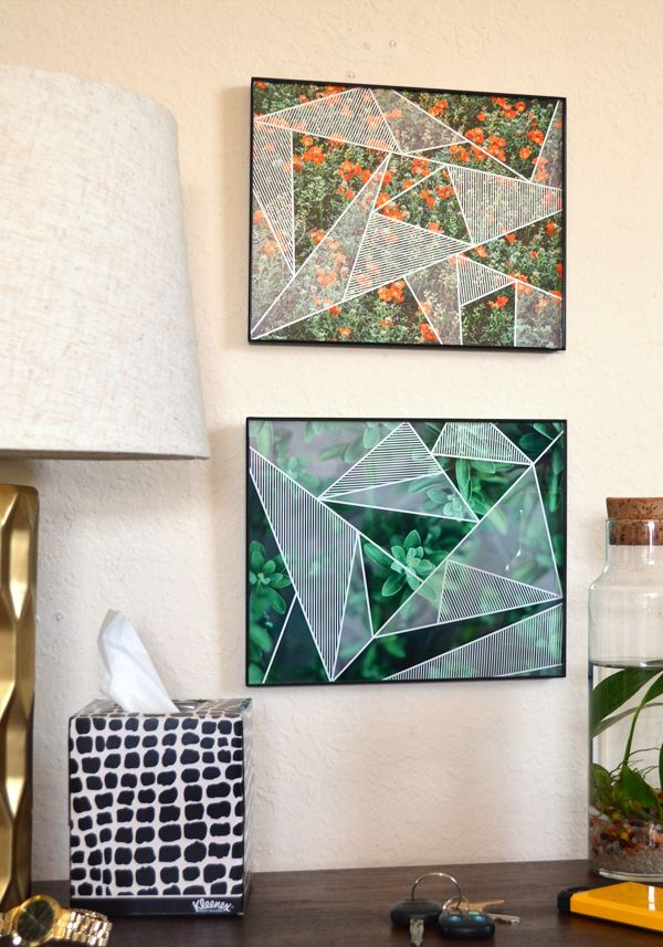 Geometric Photo Print Wall Art