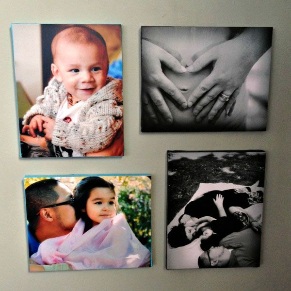 How to Mount Pictures on Canvas