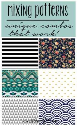 Mixing Patterns - 3 Unique Combos that Work