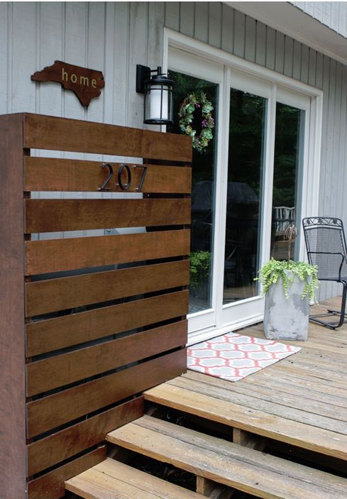 She Hated The Utility Boxes That Spoiled Her Tranquil Back Patio. What She Does ...