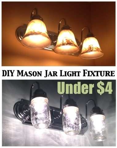 What an inexpensive update to light fixtures.  Note, Melissa @ Two It Yourself (...