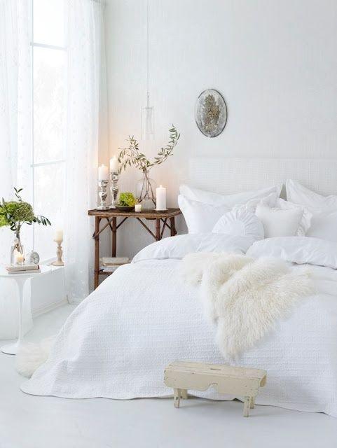 White bedroom. Pretty