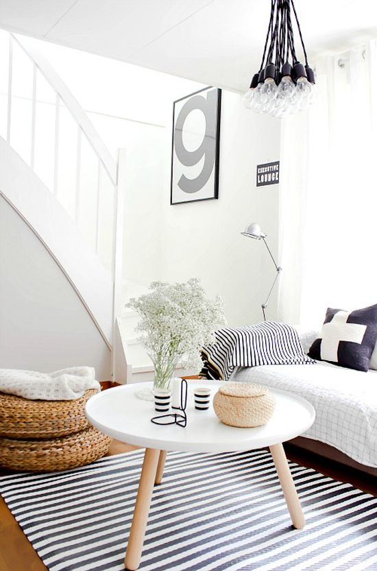 A Bright and Airy Scandinavian Home