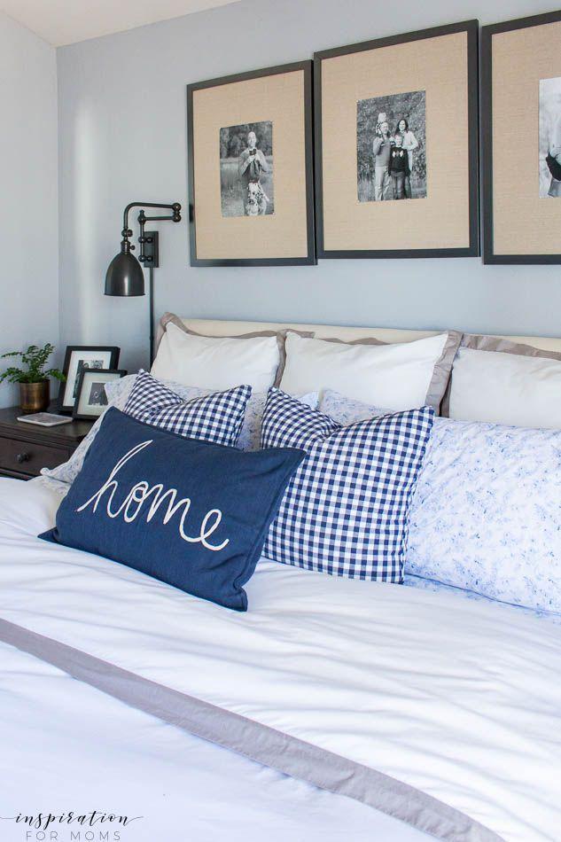 Spring Master Bedroom Refresh - Inspiration For Moms