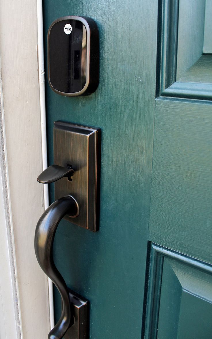 Why We Installed an Electronic Keyless Door Lock