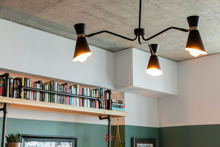 Before & After – An Empty White Room Is Transformed Into A Home Library