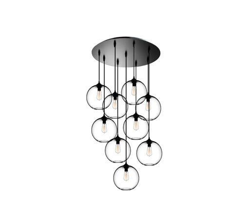 Circular-9 Multi-Pendant Canopy | Niche. #interiordesign #interiordesignmagazine...