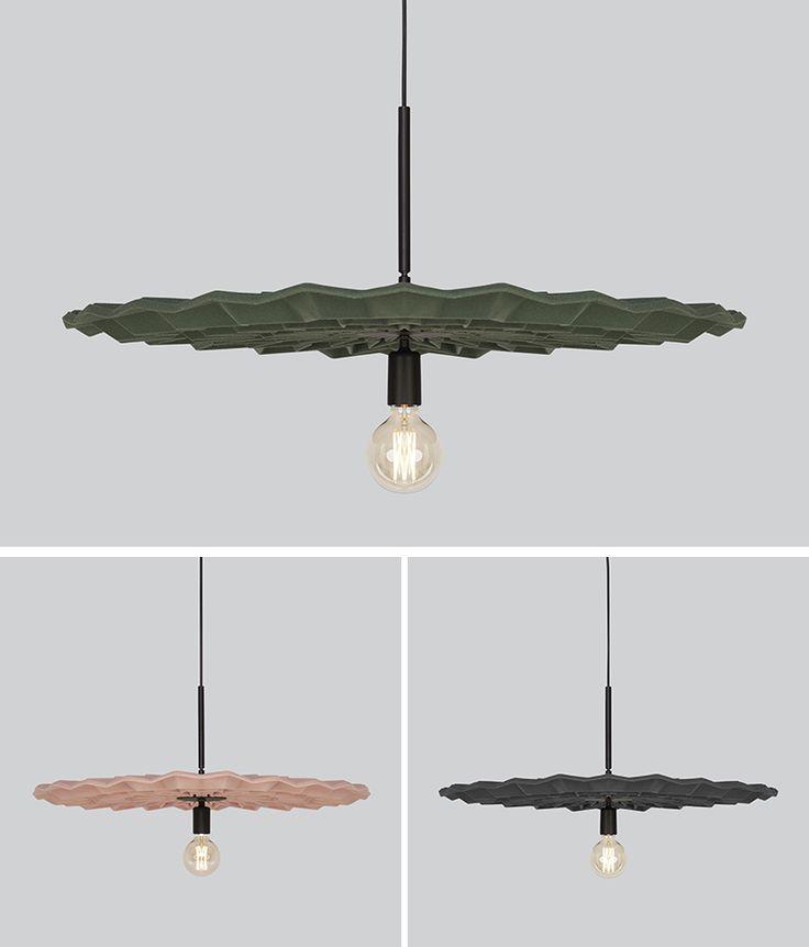 Kyla McCallum has designed 'Fold', a modern pendant light whose design has been ...