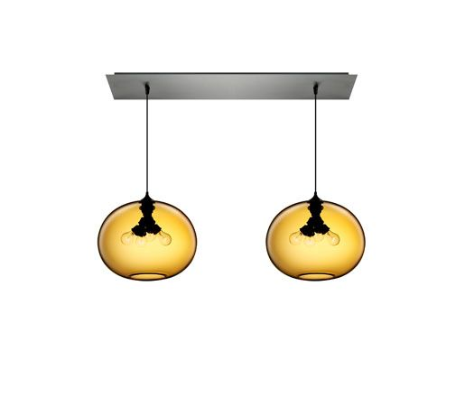 Linear 2 Large Multi-Pendant Canopy | Niche. #design #interiordesignmagazine #in...