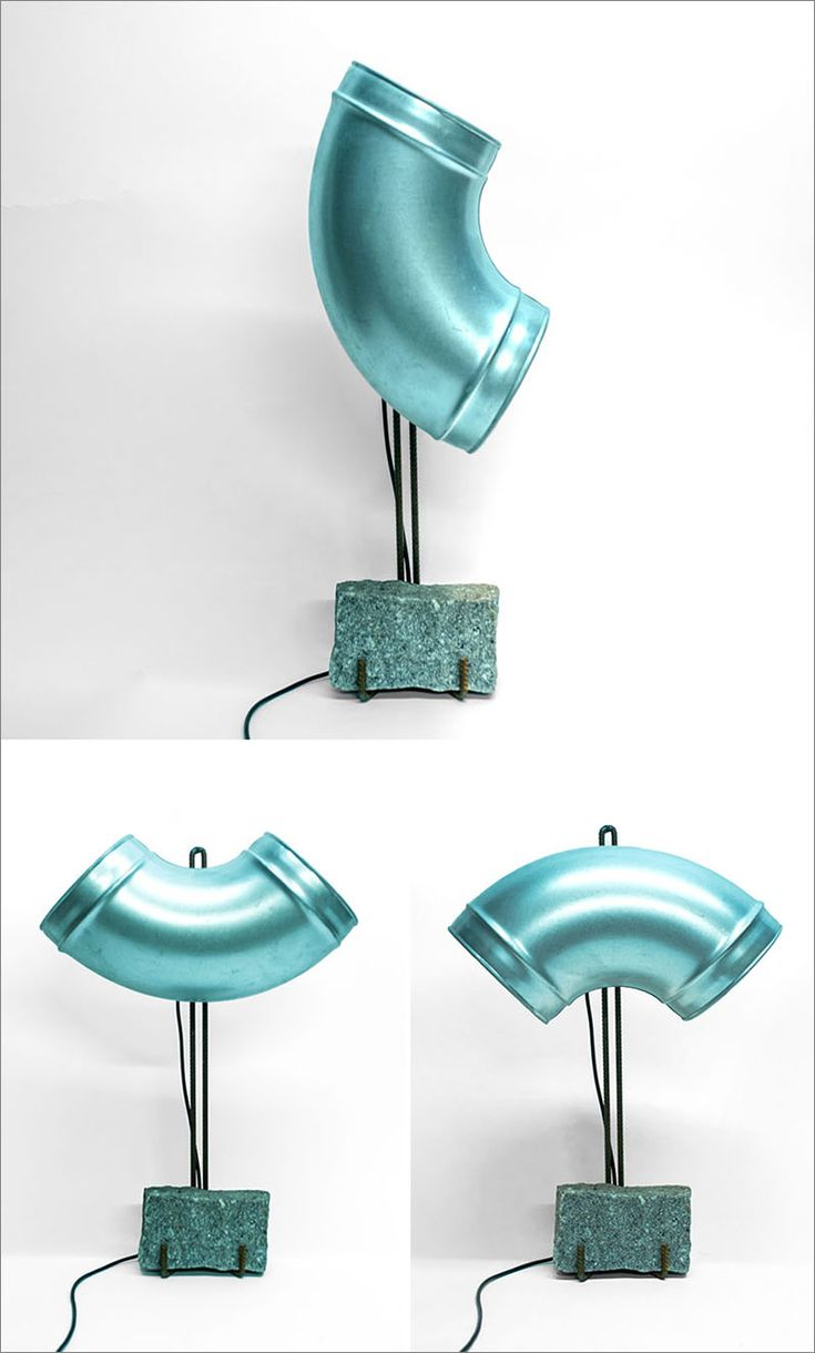 Lucas Munoz Has Designed Furniture And Lighting Using Materials Normally Found Behind Walls