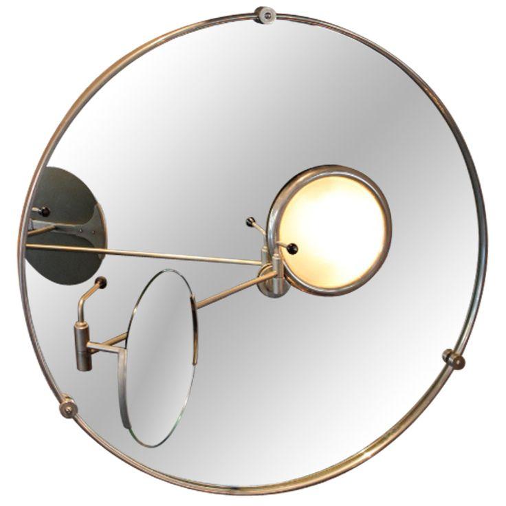 Eileen Gray, Satellite Mirror, 1960s.