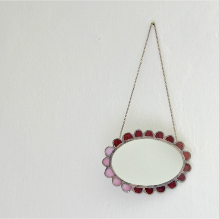 Just a little Granny Chic Mirror | Pamela Angus