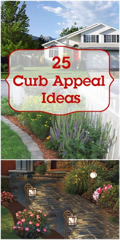 A home exterior can be updated and given extra curb appeal in so many ways. Try ...
