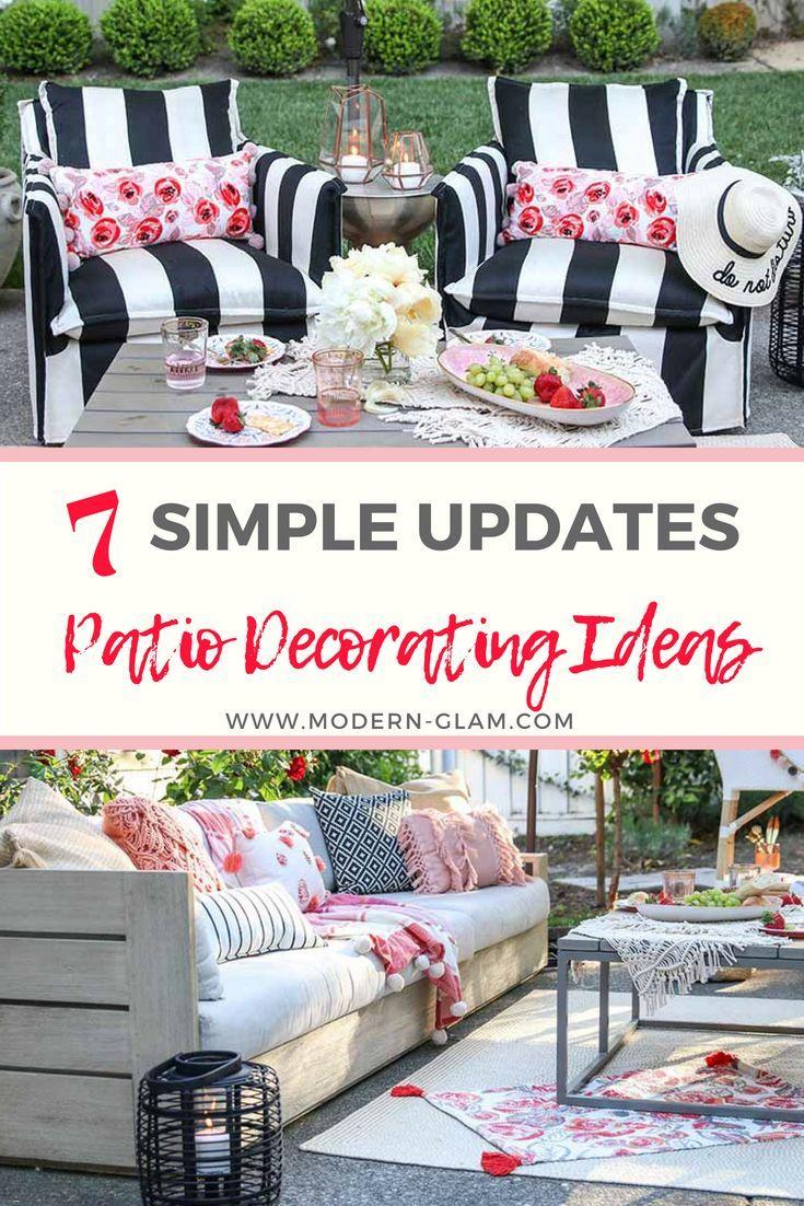 Patio Decorating Ideas: 7 Simple Summer Updates