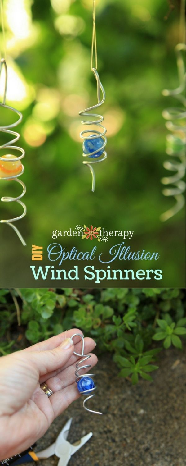 VIDEO: Bring Light and Movement to the Garden with a DIY Wind Spinner - Garden Therapy